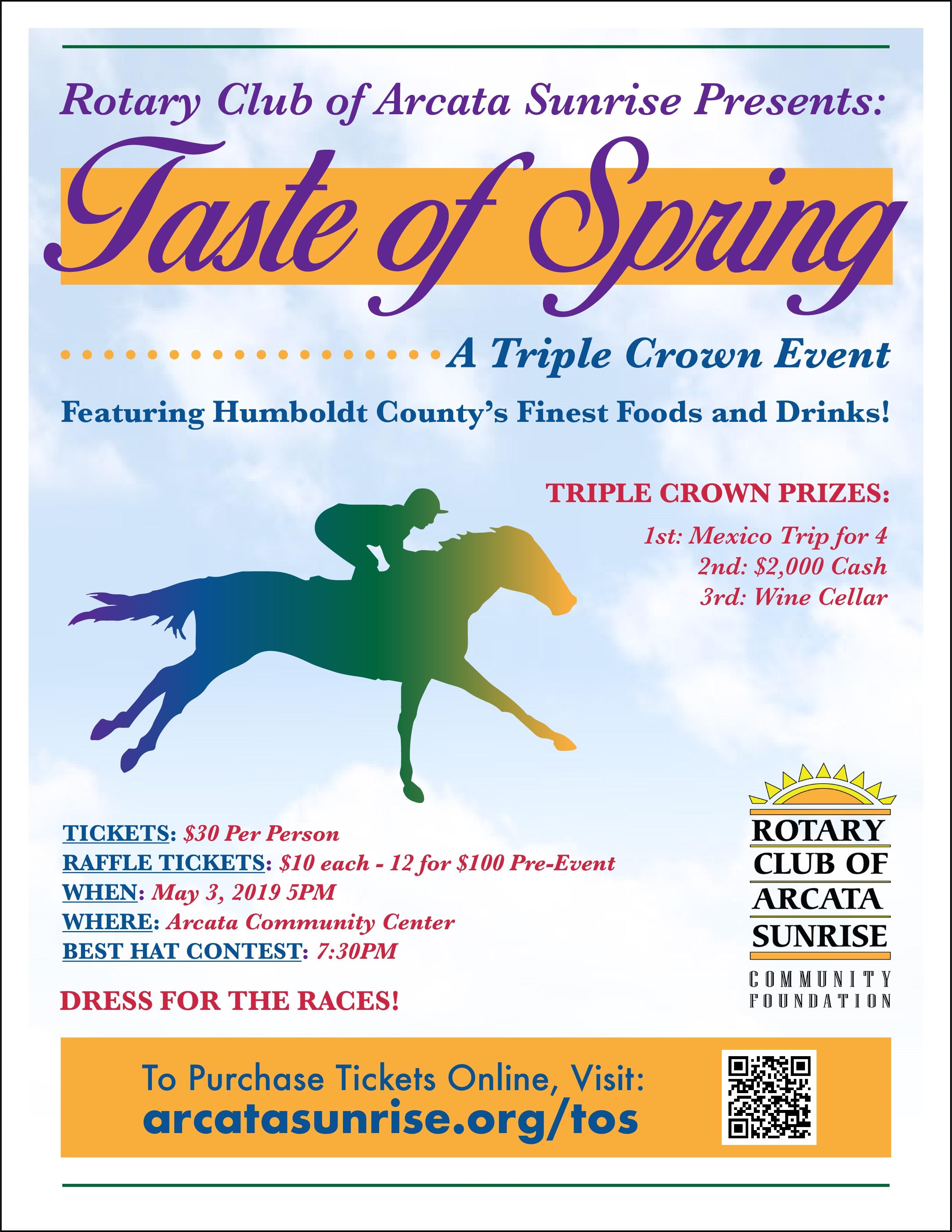 Taste of Spring poster