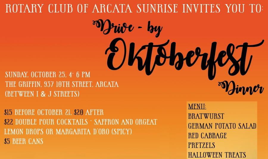 Oktoberfest Oct 25th 4-6 PM
